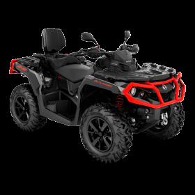 Outlander MAX XT T 650 Can-Am Red-Black Traktor ABS 2019