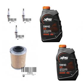 Original Sea-Doo 900cc (Spark & GTI90) servicesats med oljefilter + CR8EB tändstift