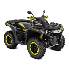 Outlander X XC T 1000 Black-Hyper Silver-Sunburst Yellow Traktor ABS 2019