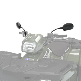 Polaris Handlebar–Mounted Mirrors