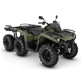 Can-Am Outlander 6X6 PRO+T Flat Bed 450 Grön T3B 2020
