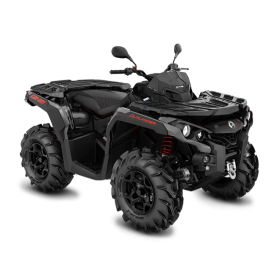 Can-Am Outlander PRO+T 650 Röd T3B 2020