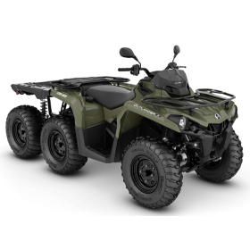 Can-Am Outlander 6X6 STD T Flat Bed 450 Grön T3B 2020