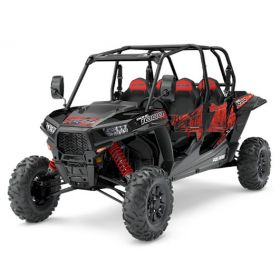 "RZR 64"" XP4 1000 EPS T1B Svart 2018 Traktor"